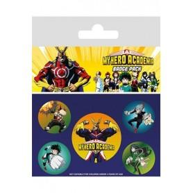My Hero Academia Pack 5 Chapas Characters