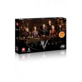 Vikings Puzzle Ragnar's Court