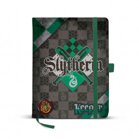 Diario Harry Potter Quidditch Slytherin 21x13x1cm