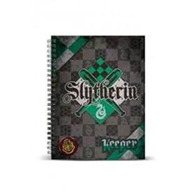 Cuaderno Slytherin Tamaño A4