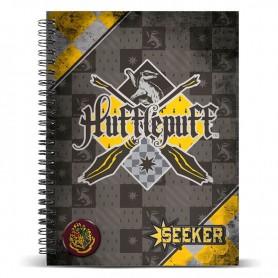 Cuaderno Hufflepuff Tamaño A4