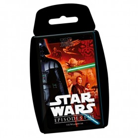 Juego cartas Star Wars classic Top Trumps