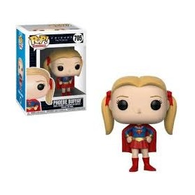 Friends Figura POP! TV Vinyl Phoebe as Supergirl 9 cm