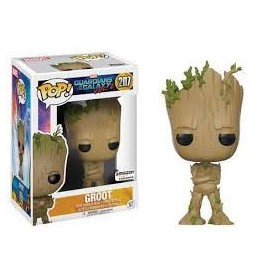 Guardianes de la Galaxia 2 POP! Vinyl Cabezón Snowy Teenage Groot 9 cm
