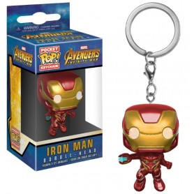 Avengers Infinity War Llavero Pocket POP! Vinyl Iron Man 4 cm