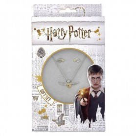 Set colgante + pendientes Golden Snitch