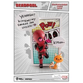 Marvel Comics Figura Mini Egg Attack Deadpool Jump Out 4th Wall 12 cm
