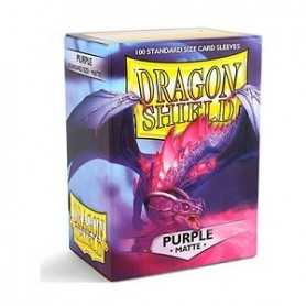 Dragon Shield Fundas Standar Purple Matte 100ud