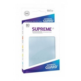 Ultimate Guard Supreme UX Sleeves Fundas de Cartas Tamaño Estándar Transparente (80)
