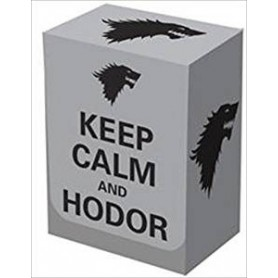 "Legion ""Keep Calm and Hodor Deck Box  80+ BOX033"