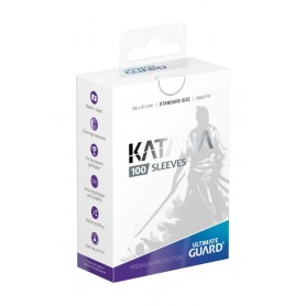 Ultimate Guard Katana Sleeves Tamaño Estándar Blanco (100)