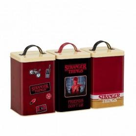Stranger Things Botes de almacenamiento Retro Logo