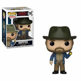 Stranger Things POP! TV Vinyl Figura Hopper & Flashlight 720