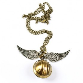 Colgante 3D Snitch Harry Potter