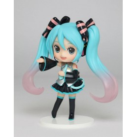 Vocaloid Estatua PVC Miku Hatsune Doll Crystal (Game-prize) 14 cm