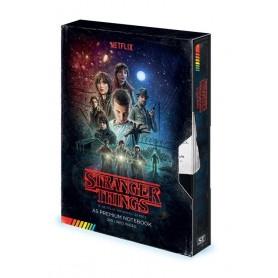 Stranger Things Libreta Premium A5 VHS