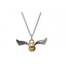 Harry Potter Collar con Colgante Golden Snitch