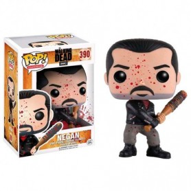 Walking Dead POP! Television Vinyl Figura Bloody Negan 390 Exclusivo