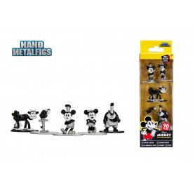 Disney Pack de 5 Figuras Nano Metalfigs Diecast Mickey's 90th 4 cm