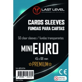 Fundas MINI EURO PREMIUM Last Level (45x68) 50ud
