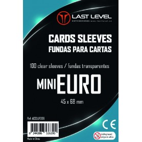 Fundas MINI EURO Last Level (45x68) 100ud