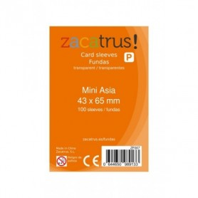 Fundas Zacatrus Mini Asia (43 mm X 65 mm) (100 uds)