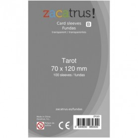 Fundas Zacatrus Tarot (70x120mm) (100)