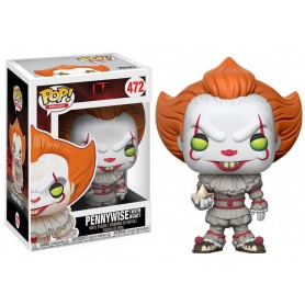 Stephen King's It POP! Movies Vinyl Figura Pennywise (with Boat) 472