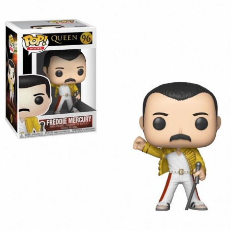 Queen POP! Rocks Vinyl Figura Freddie Mercury Wembley 1986 -- 96
