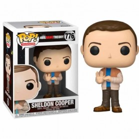 The Big Bang Theory POP! TV Vinyl Figura Sheldon 776