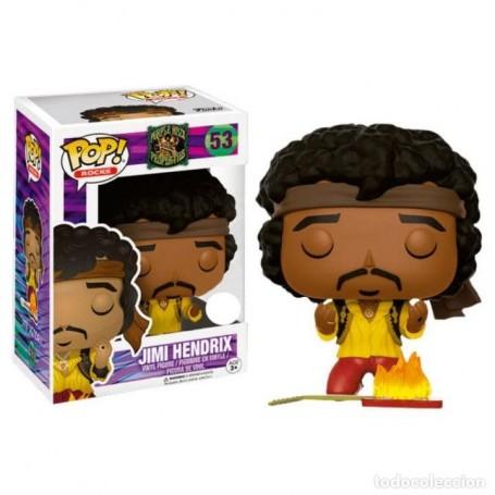 Jimi Hendrix POP! Rocks Vinyl Figura Jimi (Monterey) 9 cm 53