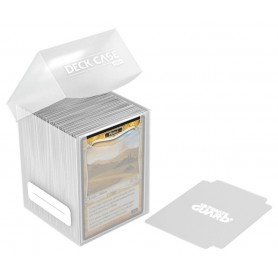 Ultimate Guard Deck Case 100+ Caja de Cartas Tamaño Estándar Transparente