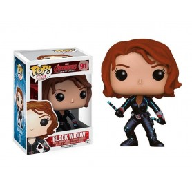 Los Vengadores 2 La Era de Ultrón POP! Vinyl Cabezón Black Widow 91