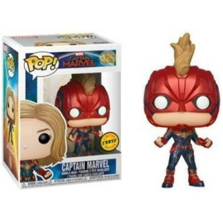 Capitana Marvel POP! Marvel Vinyl  425 Chase
