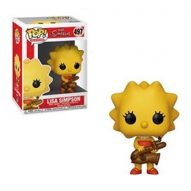 Los Simpson Figura POP! TV Vinyl Lisa 497
