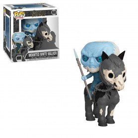 Juego de Tronos POP! Rides Vinyl Figura White Walker on Horse 60