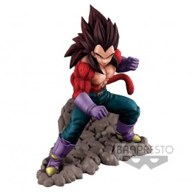 Dragonball GT Figura Super Saiyan 4 Vegeta 16 cm