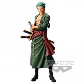 Figura Roronoa Zoro Grandista The Grandline Men One Piece 28cm