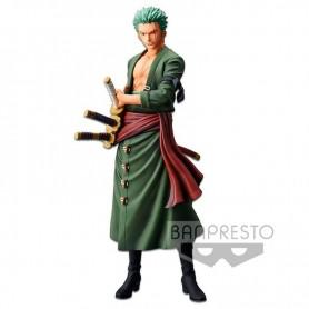 Figura Roronoa Zoro Grandista The Grandline Men One Piece 28cm