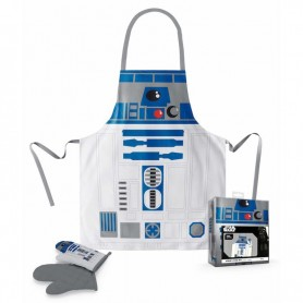 Delantal con guantes R2-D2 Star Wars