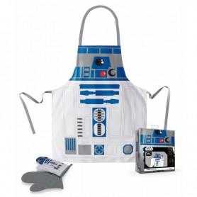 Delantal con guantes R2-D2 Star Wars