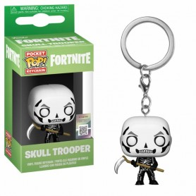 Fortnite Llavero Pocket POP! Vinyl Skull Trooper 4 cm