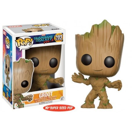 Guardianes de la Galaxia Vol. 2 POP! Marvel Vinyl Super Sized Figura Young Groot 25 cm 202