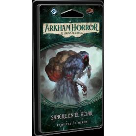 Arkham Horror, El juego de cartas: Sangre en el altar
