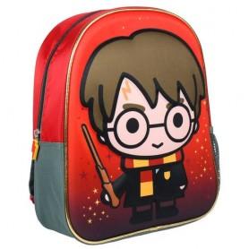 Mochila 3D Harry Potter 31cm