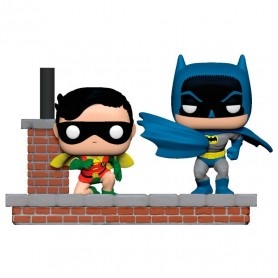 Batman 80th Pack de 2 POP Moment! Vinyl Figuras Look Batman & Robin (1964) 281