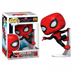 Figura POP Marvel Spiderman Far From Home Spiderman Upgraded Suit 470