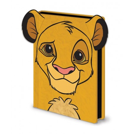 El Rey León Libreta Premium A5 Simba Furry