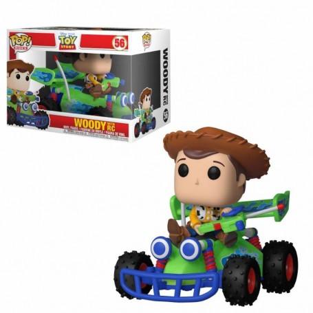 Toy Story POP! Rides Vinyl Figura Woody & RC 15 cm