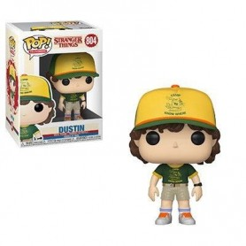 Stranger Things POP! TV Vinyl Figura Dustin (At Camp) 804